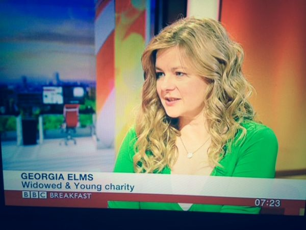 WAY's Chair Georgia Elms on BBC Breakfast