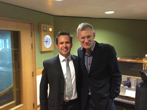 Paul Verrico with Jeremy Vine