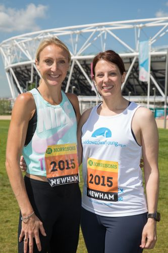 Pherenice and Paula Radcliffe